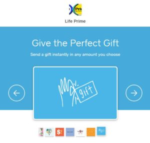 Buy GIFT CARDS at Life Prime