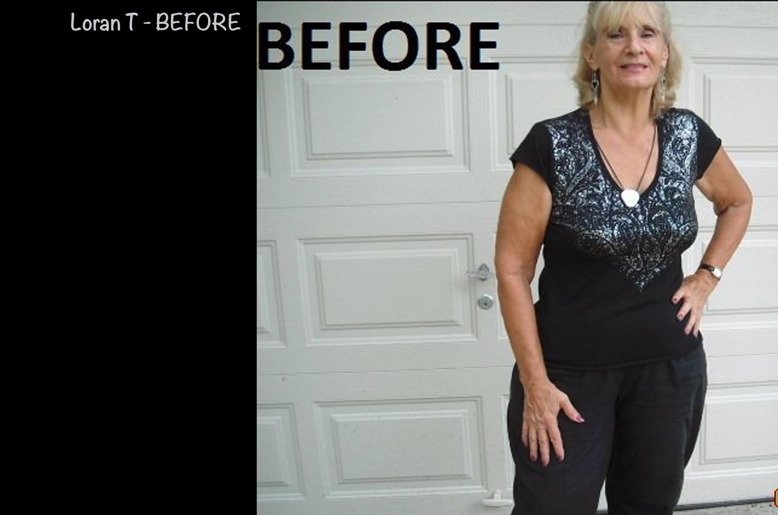 Weight Loss Testimonial - Loran T